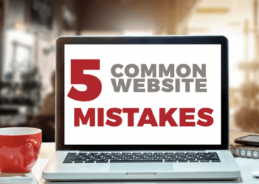 5 website mistakes you should avoid