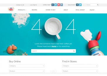How can you create a good 404 page?