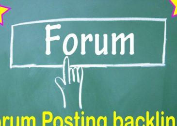 Is forum link building still efficient for SEO?