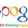7 most important SEO ranking factors you should memorise